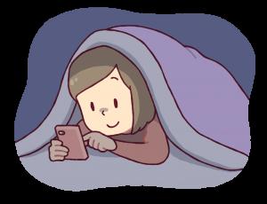 睡眠障害とスマホ