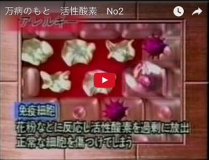活性酸素とアトピー【大阪堺の整体院エール】