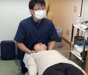 上部頸椎リスティング検査