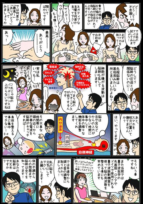 バランス整体院エール コマ漫画2