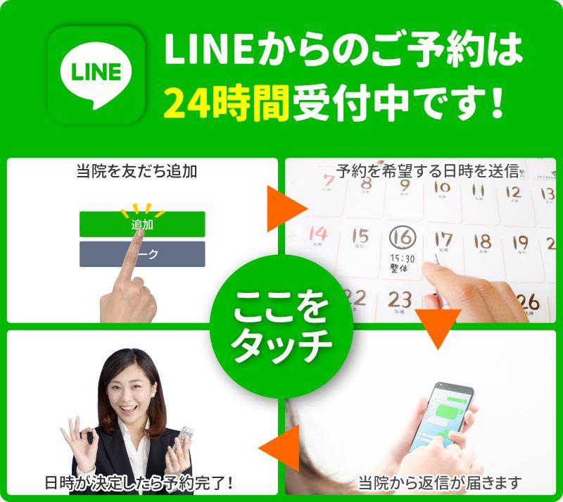LINEバナー/バランス整体院エール
